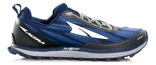 Mens Altra Superior 3.0 Trail Running Shoe - Navy/Black 8