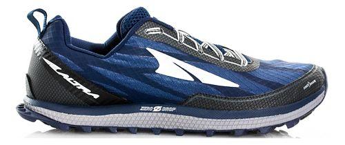 Mens Altra Superior 3.0 Trail Running Shoe - Navy/Black 8.5
