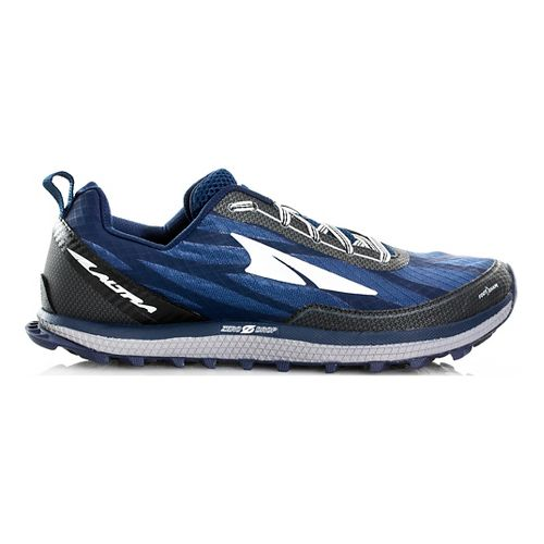 Mens Altra Superior 3.0 Trail Running Shoe - Navy/Black 12.5