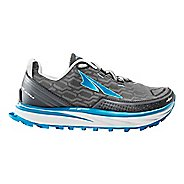 Womens Altra Timp iQ Trail Running Shoe - Charcoal/Blue 6