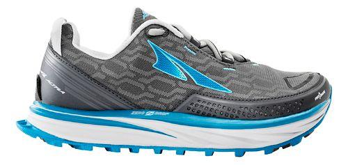 Womens Altra Timp iQ Trail Running Shoe - Charcoal/Blue 8.5