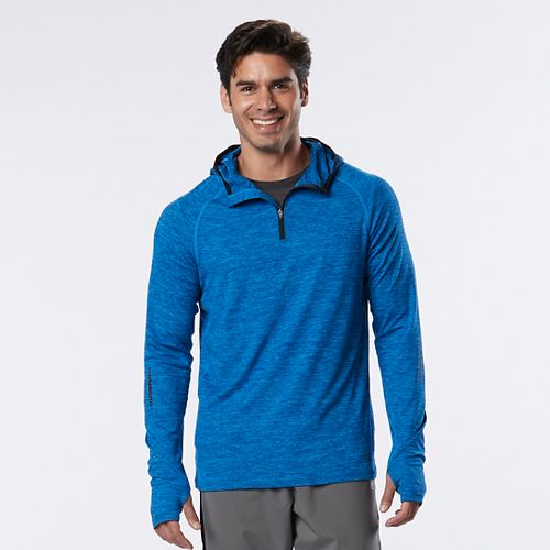 Mens R-Gear In the Zone 1/4 Zip Half-Zips & Hoodies Technical Tops - Bolt Blue XL