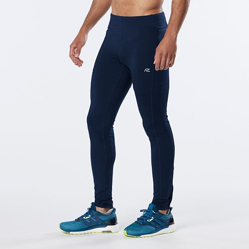Mens R-Gear Recharge Compression Full Length Tights - Midnight Blue S