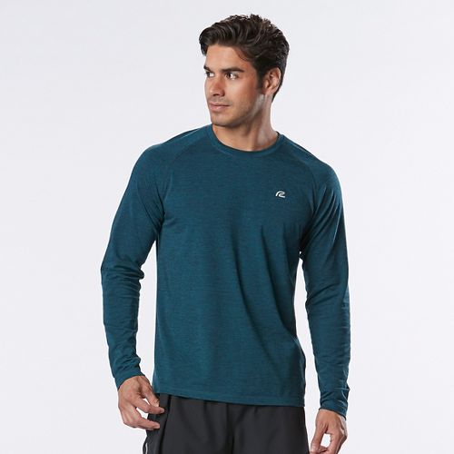 Mens R-Gear Training Day Long Sleeve Technical Tops - Deep Dive L