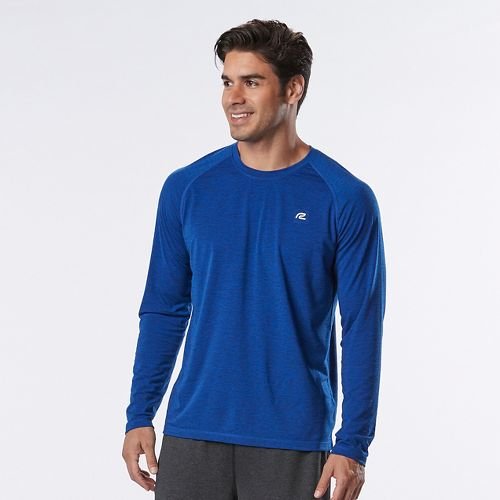 Mens R-Gear Training Day Long Sleeve Technical Tops - Cobalt M
