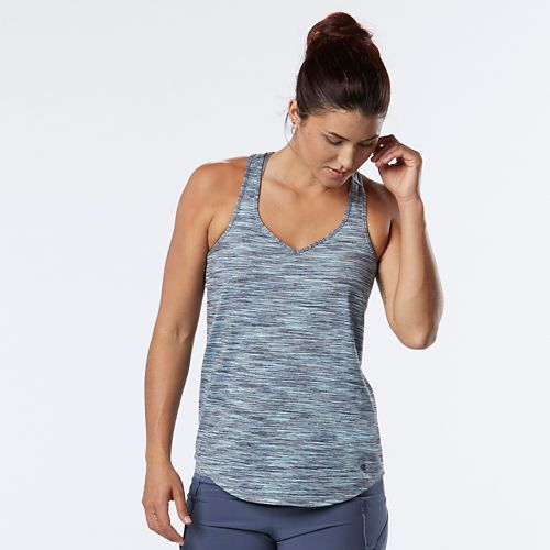 Womens R-Gear Shades of Grey Spacedye Sleeveless & Tank Technical Tops - Storm Blue/Grey Mist ...