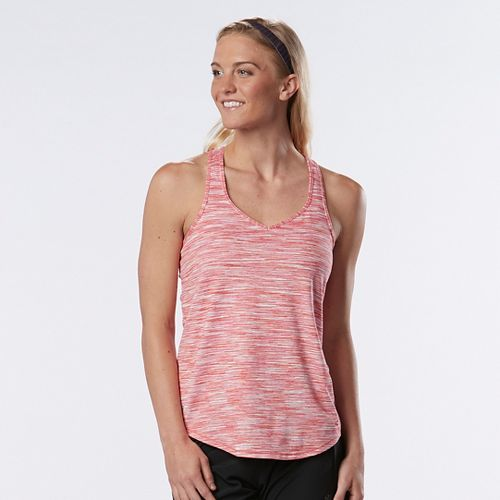 Womens R-Gear Shades of Grey Spacedye Sleeveless & Tank Technical Tops - Super Pink/Punch S