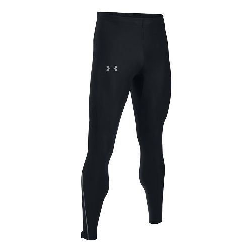 Mens Under Armour CoolSwitch Run V2 Tights & Leggings Pants - Black M