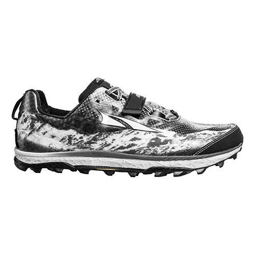 Womens Altra King MT Trail Running Shoe - Grey/Magenta 9.5