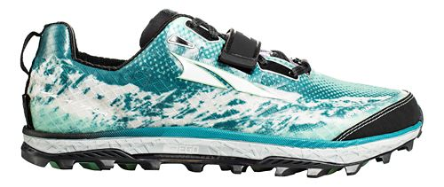 Womens Altra King MT Trail Running Shoe - Teal 9