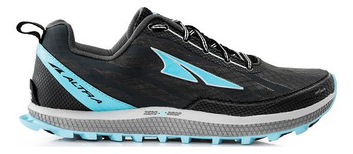 Womens Altra Superior 3.0 Trail Running Shoe - Charcoal/Blue 7.5