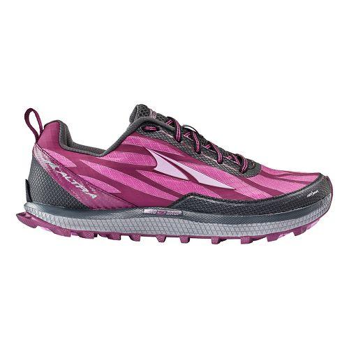 Womens Altra Superior 3.0 Trail Running Shoe - Raspberry 6.5