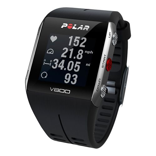 Polar V800 GPS with Heart Rate Monitor Monitors - Black/Black