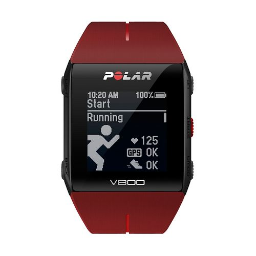 Polar V800 HR Monitors - Red