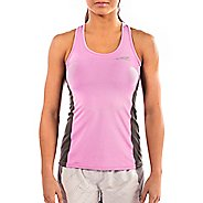 Womens Altra Running Sleeveless & Tank Tops Technical Tops - Orchid M