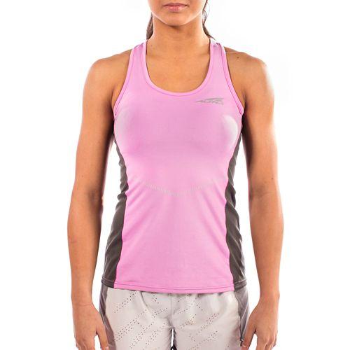 Womens Altra Running Sleeveless & Tank Tops Technical Tops - Orchid XS