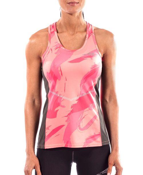 Womens Altra Running Sleeveless & Tank Tops Technical Tops - Pink XS