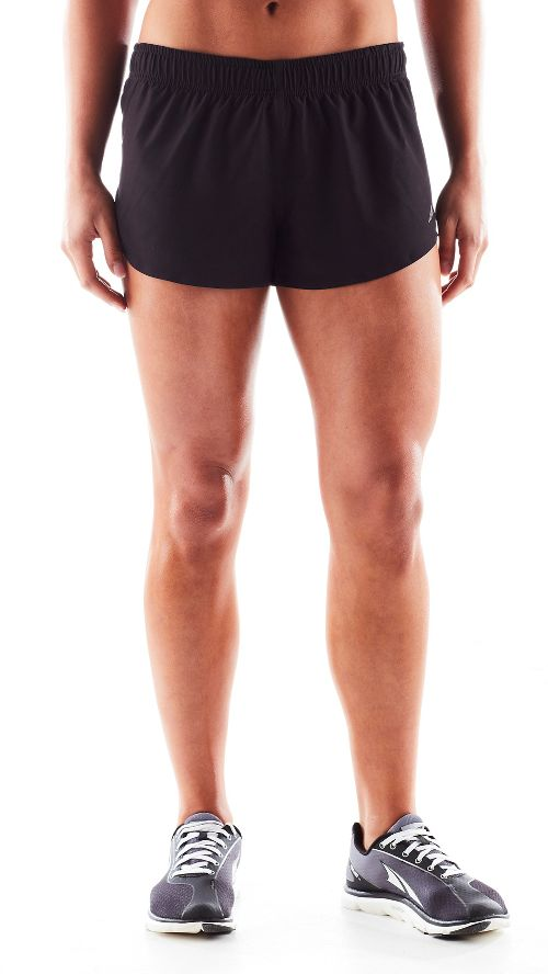 Womens Altra Racer Unlined Shorts - Black L
