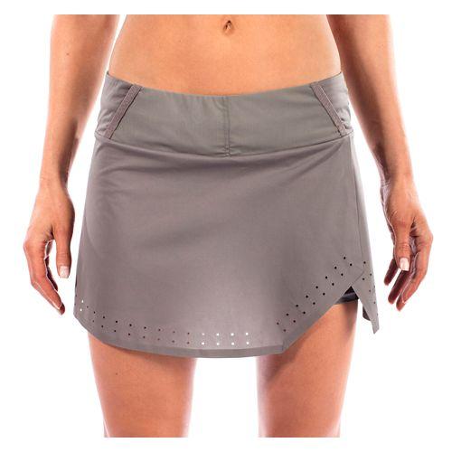 Womens Altra Performance Skort Skorts Fitness Skirts - Grey XS