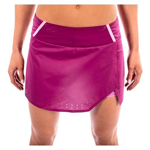 Womens Altra Performance Skort Skorts Fitness Skirts - Magenta L