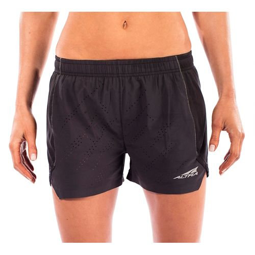 Womens Altra Running Unlined Shorts - Black S