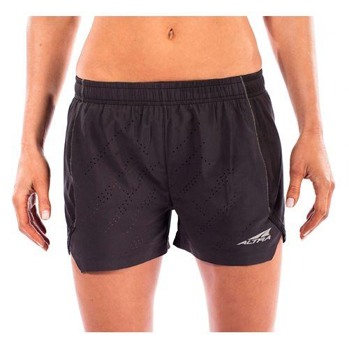 Womens Altra Running Unlined Shorts - Black XS
