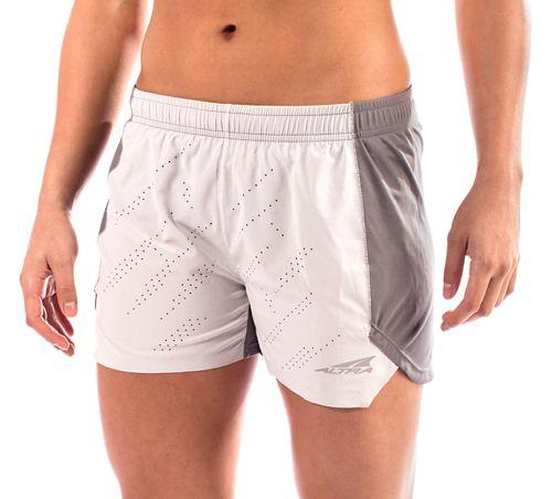 Womens Altra Running Unlined Shorts - Grey L