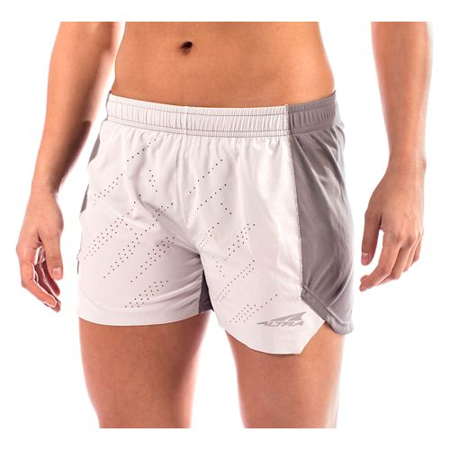 Womens Altra Running Unlined Shorts - Grey S