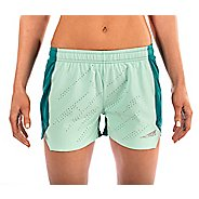Womens Altra Running Unlined Shorts - Teal S