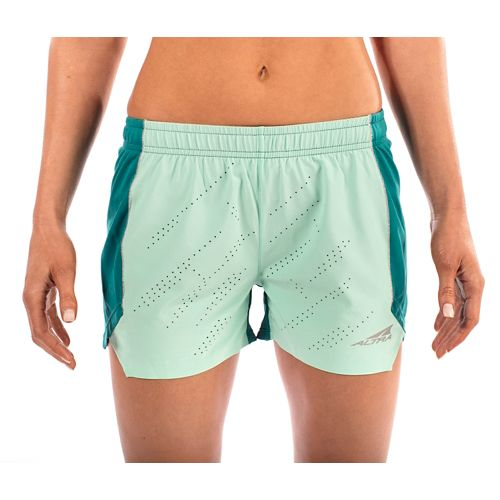 Womens Altra Running Unlined Shorts - Teal L