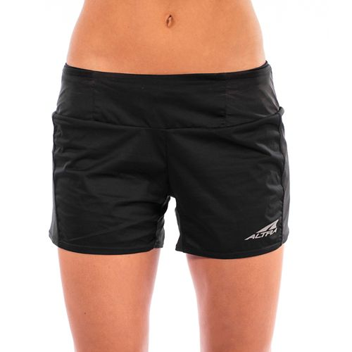 Womens Altra Trail Unlined Shorts - Black M