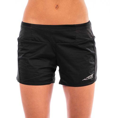Womens Altra Trail Unlined Shorts - Black XS