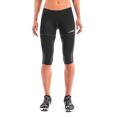 Womens Altra Capri Tight Capris Pants - Grey S