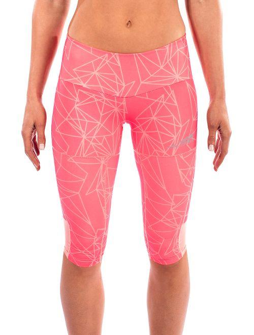 Womens Altra Capri Tight Capris Pants - Pink M
