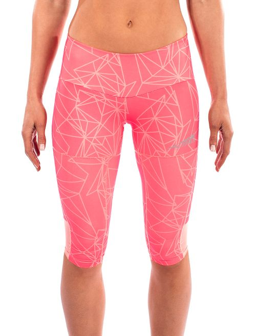 Womens Altra Capri Tight Capris Pants - Pink XS