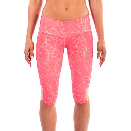 Womens Altra Capri Tight Capris Pants - Pink S