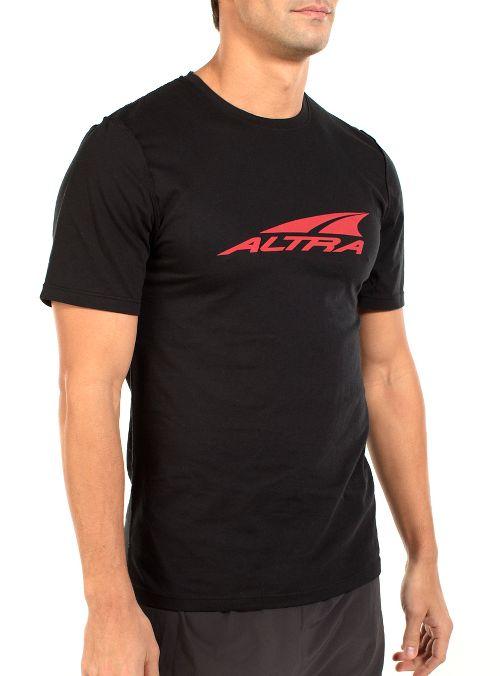 Mens Altra Core Tee Short Sleeve Technical Tops - Black XL