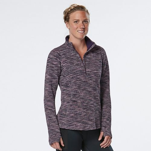 Womens R-Gear Layer Up Quilted Half-Zips & Hoodies Technical Tops - Let's Jam L