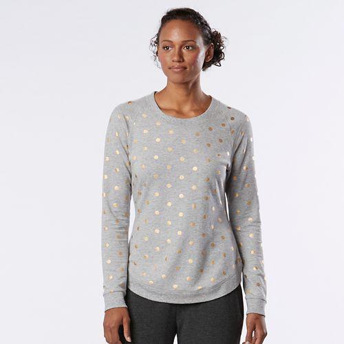Womens R-Gear Kickin' Back Sweatshirt Long Sleeve Technical Tops - Heather Chrome XL