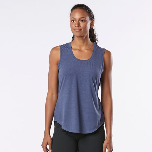 Womens R-Gear Split Time Sleeveless & Tank Technical Tops - Heather Storm Blue L