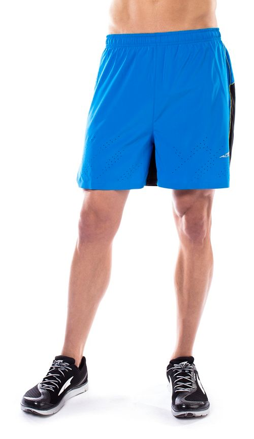 Mens Altra Running Unlined Shorts - Blue S