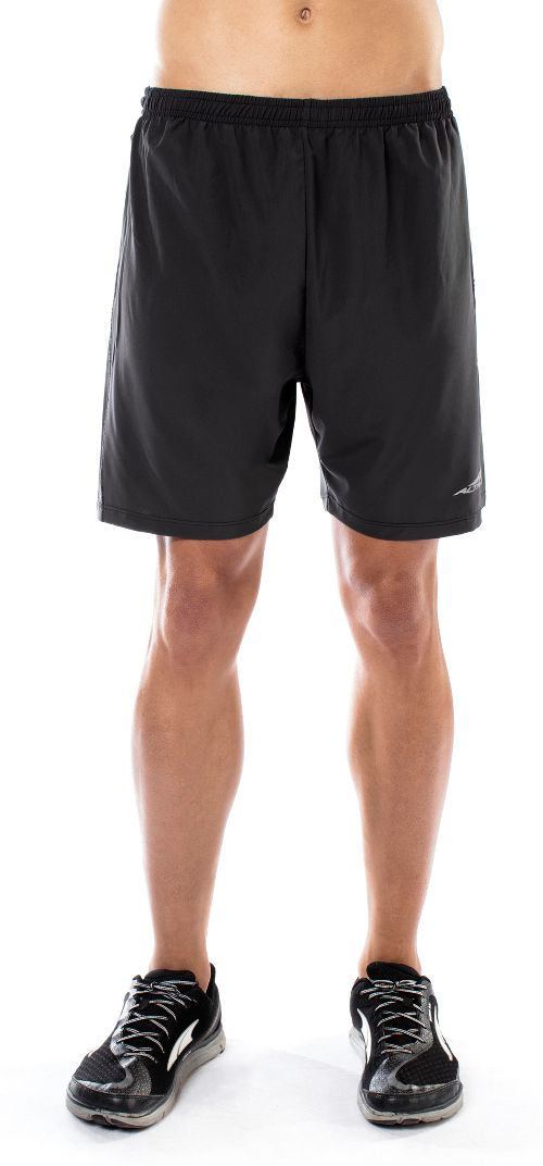 Mens Altra Long Running Unlined Shorts - Black L