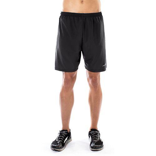Mens Altra Long Running Unlined Shorts - Black XL