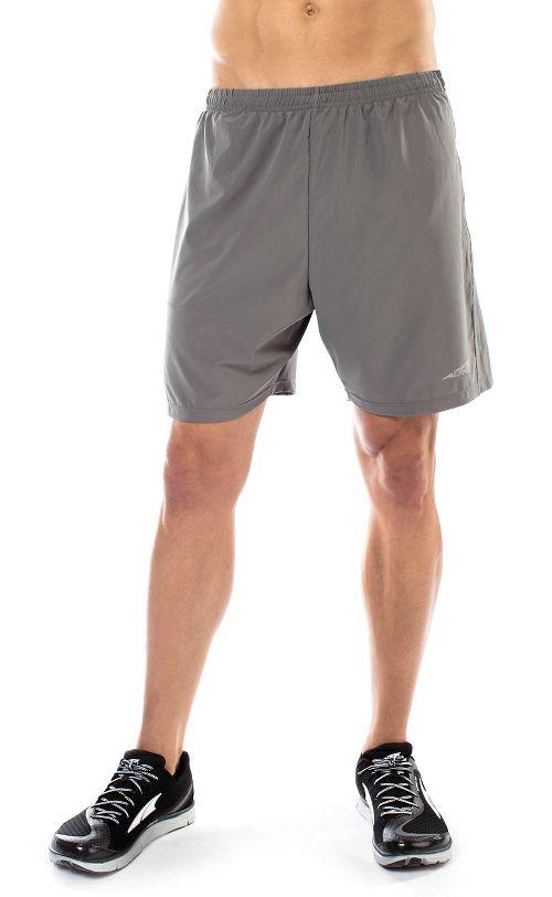 Mens Altra Long Running Unlined Shorts - Grey S