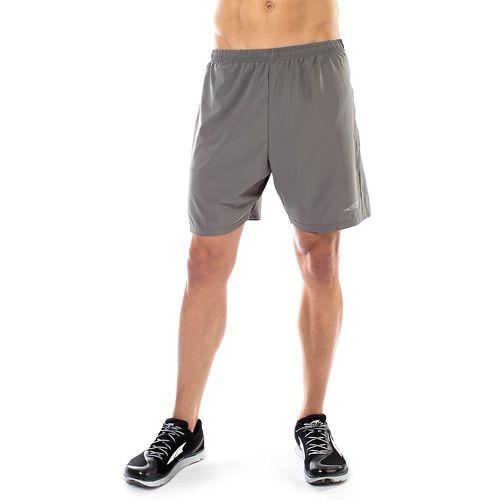 Mens Altra Long Running Unlined Shorts - Grey L