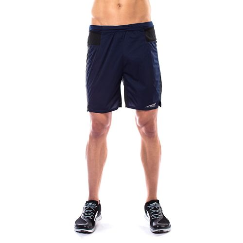 Mens Altra Trail Unlined Shorts - Navy M