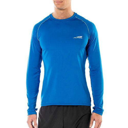 Mens Altra Running Long Sleeve Technical Tops - Blue XL