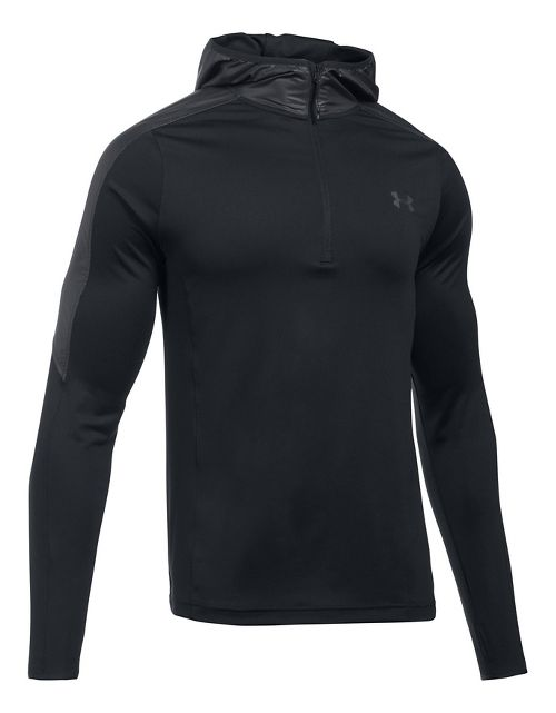 Mens Under Armour Supervent 1/4 Zip Half-Zips & Hoodies Technical Tops - Black XL