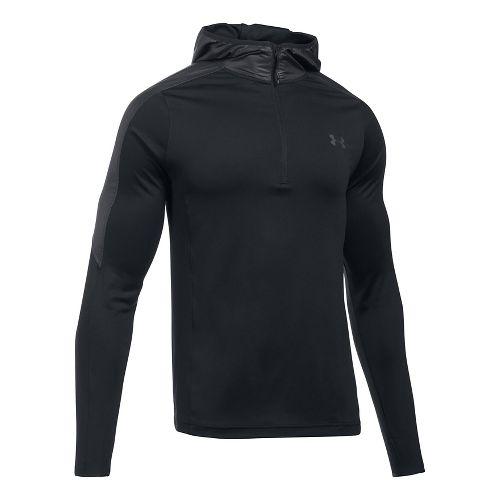 Mens Under Armour Supervent 1/4 Zip Half-Zips & Hoodies Technical Tops - Black L
