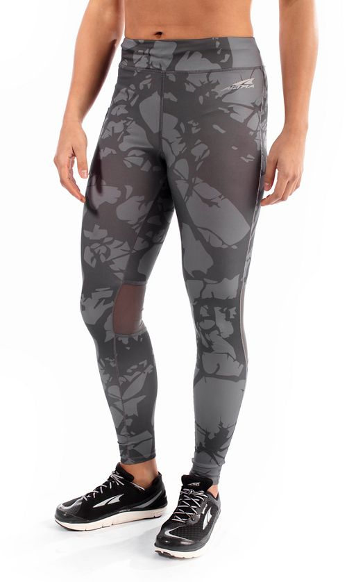 Womens Altra Performance Full Tights & Leggings Pants - Grey S